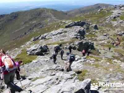 Senderismo Segovia - Macizo de la Buitrera; paseos sierra madrid